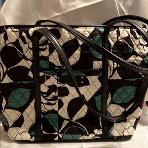 Vera Bradley Small Quilted Tote